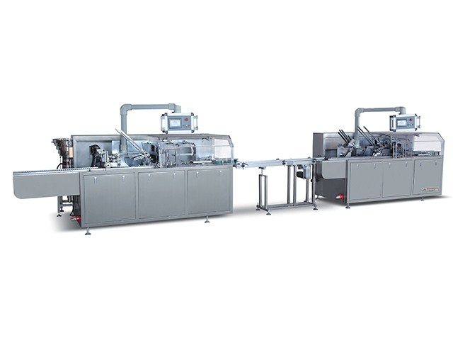 KXZ-100B small  box into big box production line